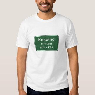 Kokomo Indiana City Limit Sign Shirt