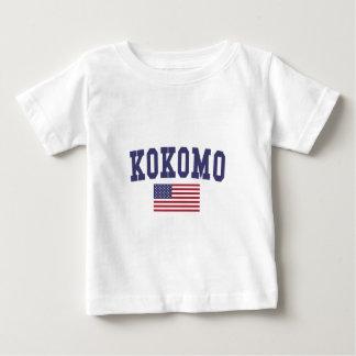 Kokomo US Flag Baby T-Shirt