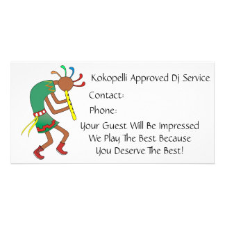 Kokopelli Approved Rocker!- Bussiness Card Photo Card