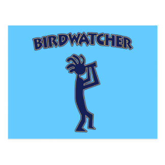 Kokopelli Birdwatcher Postcard