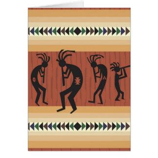 Kokopelli Card