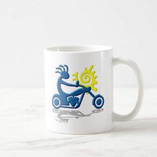 Kokopelli Chopper Basic White Mug