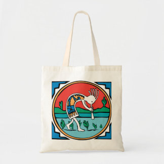 Kokopelli Color Tote Bag