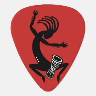 Kokopelli Drummer Guitar Pick