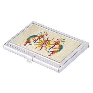 KOKOPELLI DUO SUN + your ideas Business Card Holders