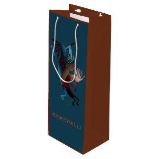 Kokopelli Flute Music Southwest Wine Bag