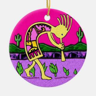 Kokopelli Good Luck Ornament