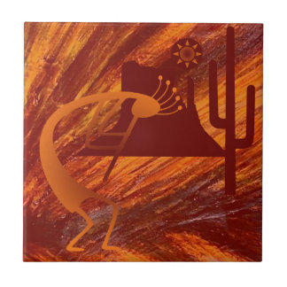Kokopelli Heat Tile