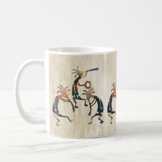 KOKOPELLI musician trio + your ideas Coffee Mug