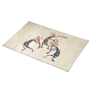 KOKOPELLI musician trio + your ideas Placemat