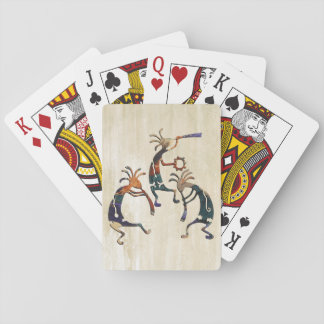 KOKOPELLI musician trio + your ideas Poker Deck