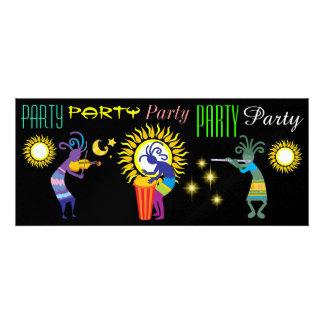 Kokopelli Party Invitations - SRF