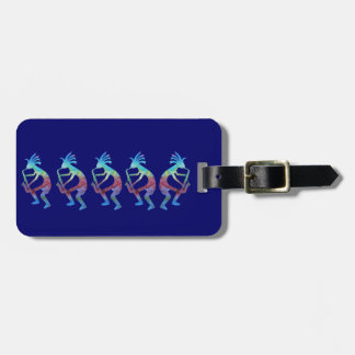 Kokopelli Plays the Sax Luggage Tag