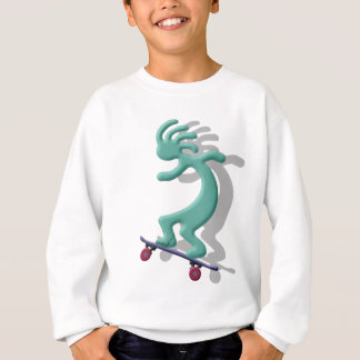 Kokopelli Skateboard Sweatshirt