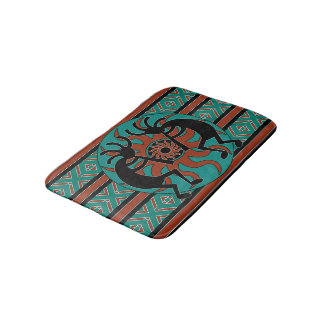 Kokopelli Southwest Design Bath Mat