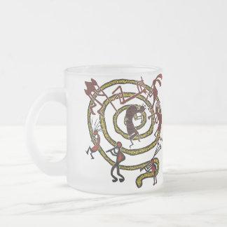 Kokopelli & Spiral - Mug #8