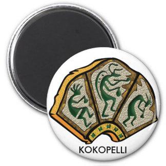 Kokopelli Stone Magnet