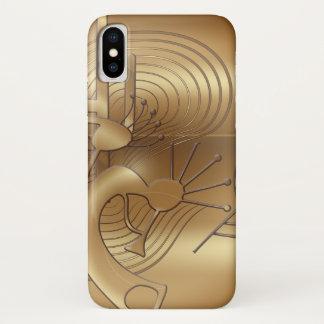 Kokopelli Swirls, Mesa and Cactus iPhone X Case