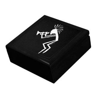 Kokopelli Trumpet Player Petroglyph Gift Box