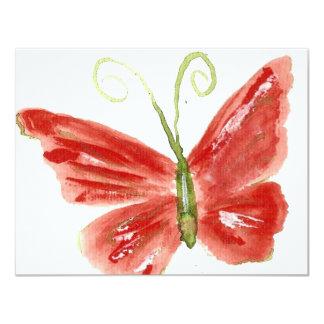Kolleen's orange butterfly 3 card