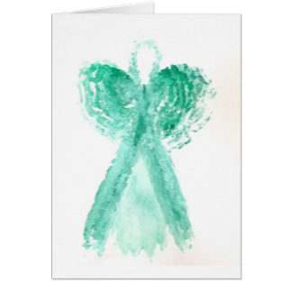 Kolleen's Teal Angel 2 Card