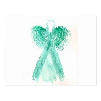 Kolleen's Teal Angel 2 Postcard