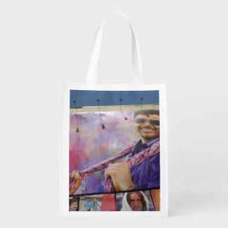 Kollywood Movie Star Reusable Grocery Bags