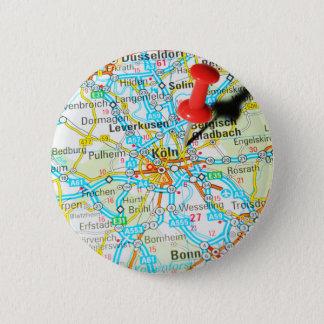 Köln, Cologne, Germany 2 Inch Round Button