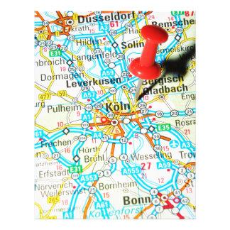 Köln, Cologne, Germany Letterhead
