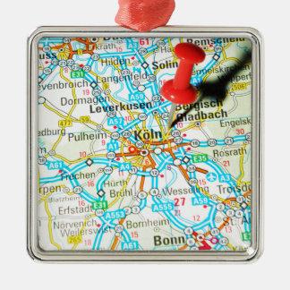 Köln, Cologne, Germany Metal Ornament