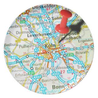 Köln, Cologne, Germany Plate