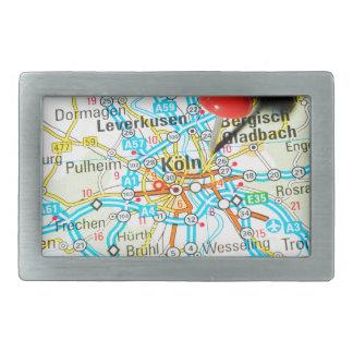 Köln, Cologne, Germany Rectangular Belt Buckle
