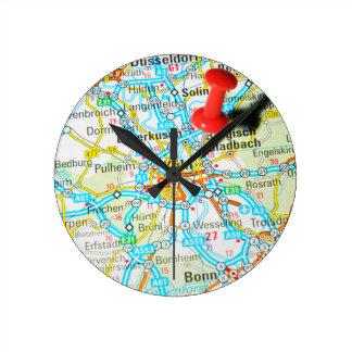 Köln, Cologne, Germany Round Clock