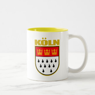 Koln (Cologne) Two-Tone Coffee Mug