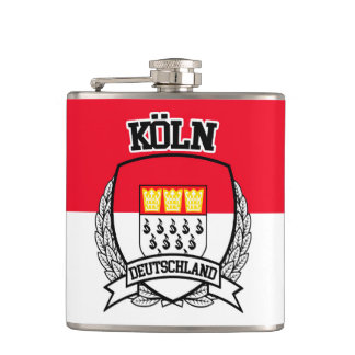 Köln Hip Flask