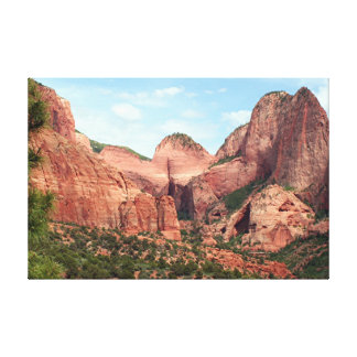 Kolob Canyons, Zion National Park, Utah, USA Canvas Print