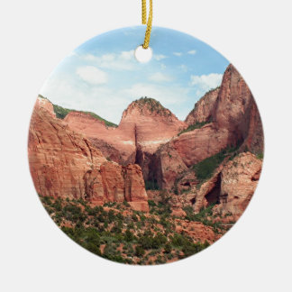 Kolob Canyons, Zion National Park, Utah, USA Ceramic Ornament