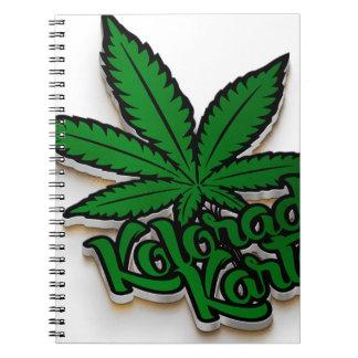 Kolorado Kartel Merchandise Non Apparel 2 Spiral Notebook