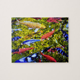 Kolorful Kauai Koi Jigsaw Puzzle