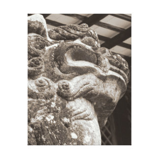 Komainu Canvas Print