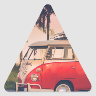 kombi fornia triangle sticker