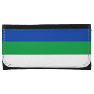 Komi Flag Leather Wallet