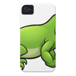 Komodo Dragon Lizard Cartoon Character Case-Mate iPhone 4 Case
