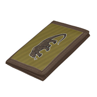Komodo Dragon Tri-fold Wallet