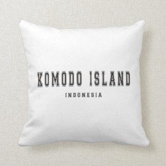 Komodo Island Indonesia Throw Pillow