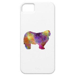 Komondor in watercolor iPhone 5 covers