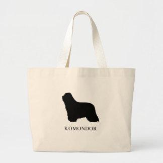 Komondor Large Tote Bag