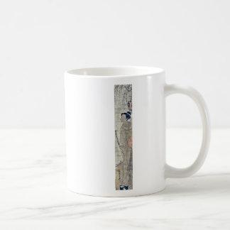 Komuso by Isoda, Koryusai, fl.  Ukiyoe Coffee Mug