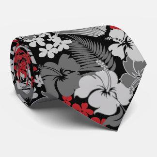 Kona Bay Hawaiian Hibiscus Two-sided Printed Tie