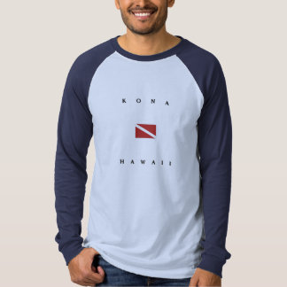 Kona Hawaii Scuba Dive Flag T-Shirt